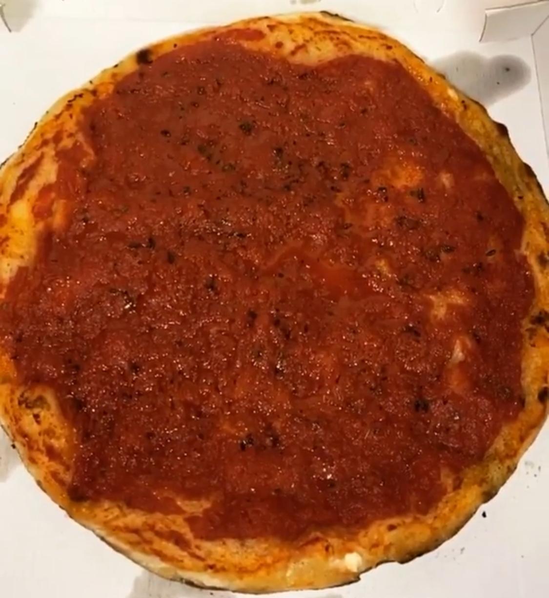 Pizza pomodoro - impasto casereccio